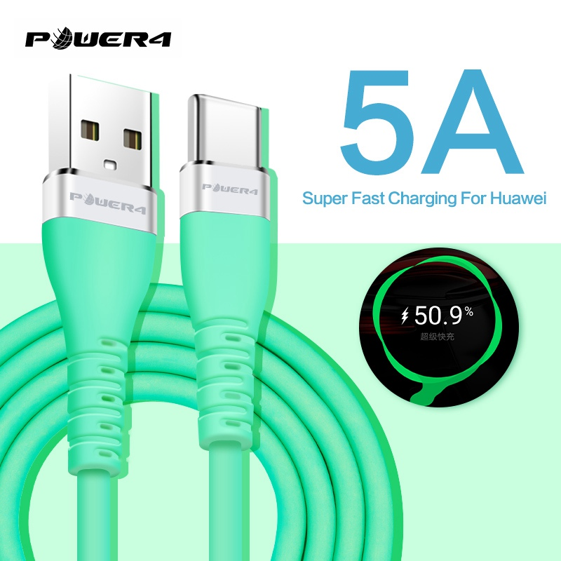 Super fast charge cable 4.5V 5A micro usb c cable fast charging