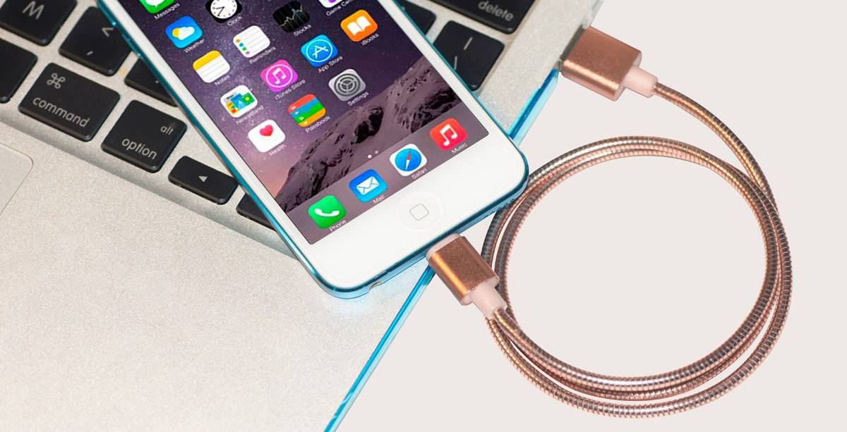 MFI 8 Pin Lightning to USB with Metallic Cable