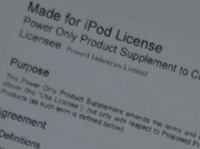 Power4 acquired Apple's authorization in 2008 and upgraded into V6.4 license in 2014