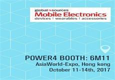 We will attend Global Sources Mobile Electronics HK