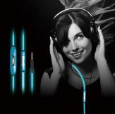 The features of glowing earphone with mic
