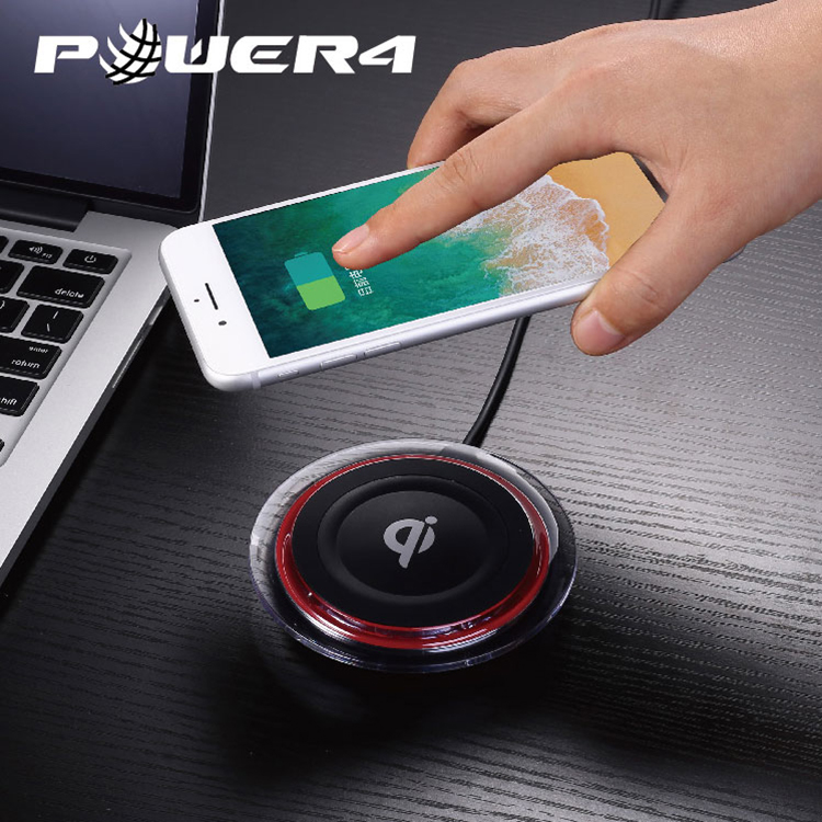 Wireless charger charging pad 10W for iPhone X/8/8 plus