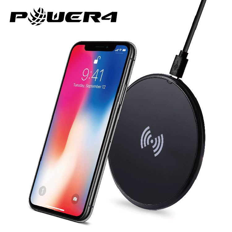 Fast charging Qi certified wireless charger charging pad stand 5W 7.5W 10W for Samsung Galaxy S8/S7/S6 Edge Plus/Note 5 and Qi-Enabled Device